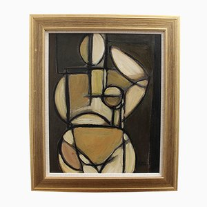 Cubist Nude by STM, 1960s