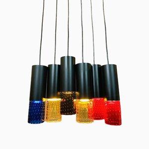 Chelsea Whitefriars Glass Pendant Light, 1960s