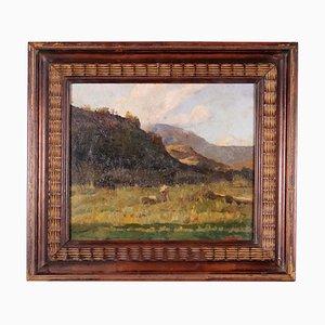Tullio Alemanni, Oil on Canvas