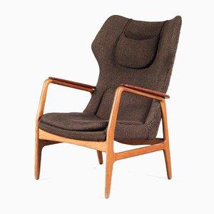 High Back Lounge Chair by Aksel Bender Madsen for Bovenkamp, Netherlands, 1950s