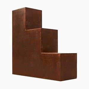 Einzigartiger Escalier Metall Beistelltisch von Jean-Baptiste Van den Heede