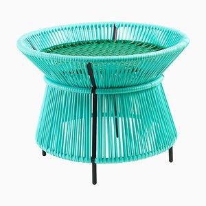 Mint Caribe Basket Table by Sebastian Herkner