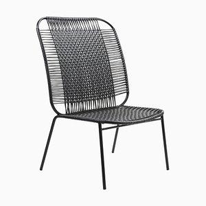 Black Cielo Lounge High Chair by Sebastian Herkner