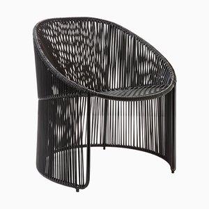 Black Cartagenas Lounge Chair by Sebastian Herkner