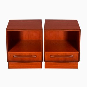 Bedside Cabinets by Fresco Victor Wilkins for G-Plan, 1960s, Set of 2