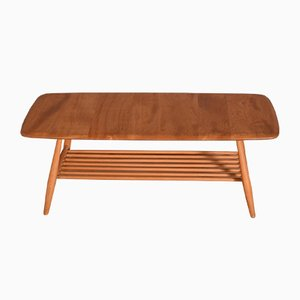 Vintage Model 459 Elm Windsor Coffee Table by Lucian Ercolani for Ercol