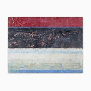 Nach Mitternacht, Abstraktes Gemälde, 2020