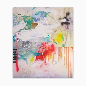 Pretty Little Thing, Abstract Painting, 2020
