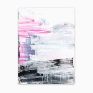 Angel Slice I, Abstraktes Gemälde, 2020