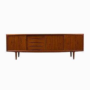 Dänisches Mid-Century Sideboard aus Teak von Aco Møbler, 1960er