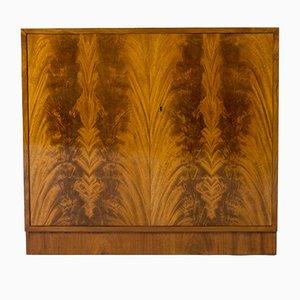 Mid-Century Swedish Mahogany Cabinets, Set of 2