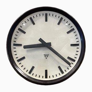 Horloge de Gare Industrielle Antique de Pragotron