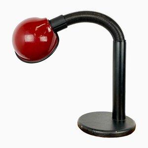 Rote Vintage Vintage Schreibtischlampe