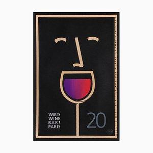 Póster Willi's Wine Bar de Tom Fowler, 2003