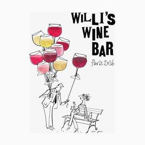 Póster de Willi's Wine Bar de MH Jeeves, 2016