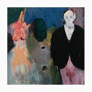Chinese Contemporary Artwork von Li Ya-Wei, The Black Suit and the Chicken, 2015