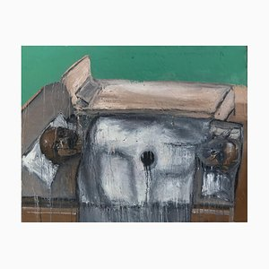 Chinese Contemporary Artwork by Li Ya-Wei, Empty Bed, 2019