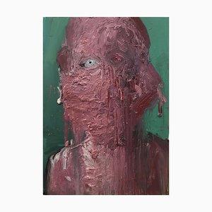 uvre d'Art Contemporaine par Li Ya-Wei, The Poet with Red Cheek, Chine, 2020
