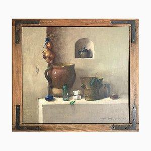 Wiktor Jedrzejak, Still Life with Plum, 1999