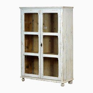 Pine Kitchen Cabinet or Display Vitrine, 1930s