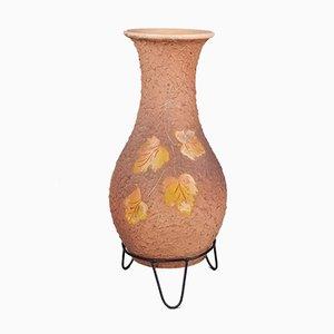 Vase en Céramique avec Socle, République Tchèque