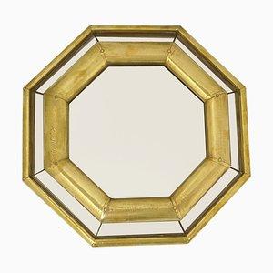 Specchio in stile Hollywood Regency di Rodolfo Dubarry, anni '60