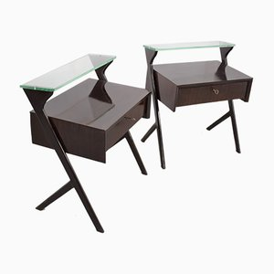 Bedside Tables, Italy, 1960s, Set of 2