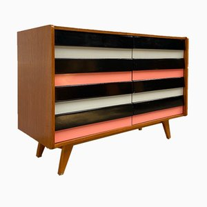 Mid-Century U-453 Chest of Drawers by J.Jiroutek from Interier Praha