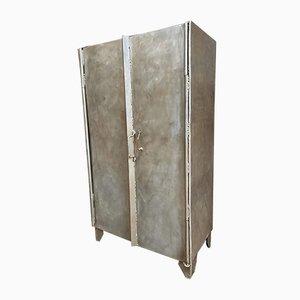 Industrielle Stahl Garderobe oder Spind