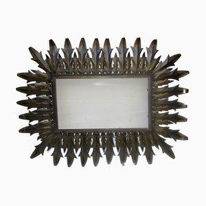 Wrought Iron Sun Mirror
