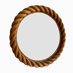 French Rope Mirror by Adrien Audoux & Frida Minet