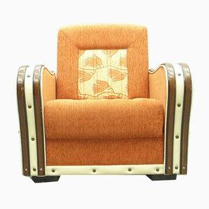 Art Deco Style Club Chair, 1950s, USA
