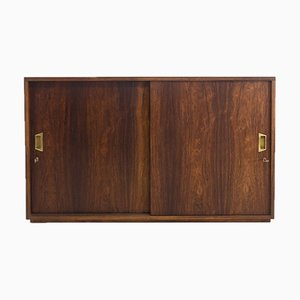 Vintage Double Sided Rosewood Cabinet