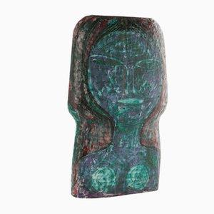 Hand-Decorated Ceramic Vase