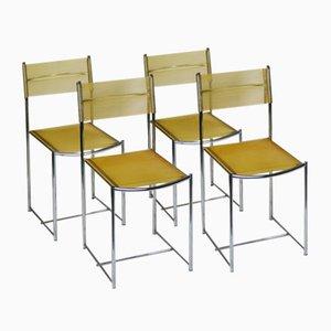 Spaghetti Stühle von Giandomenico Belotti für Alias, 4er Set