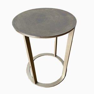 Circular Chrome Coffee Table by Antonio Citterio for B&b Italia / C&b Italia