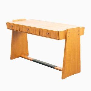 Cherry Wood Desk, 1950s