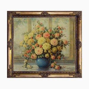 Vaso con fiori par Giovanni Bonetti