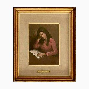Portrait by Guglielmo Migliore