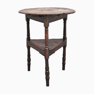 Eichenholz Cricket Tisch, 17. Jh