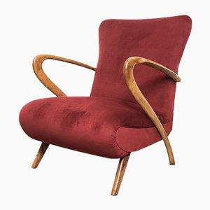 Italienischer Sessel von Paolo Buffa, 1950er