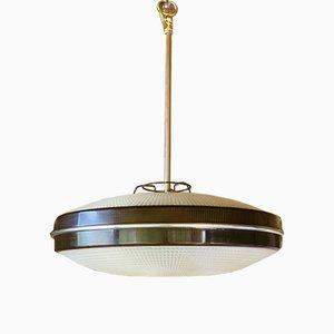 Mid-Century UFO Pendant Light, 1960s or 1970s
