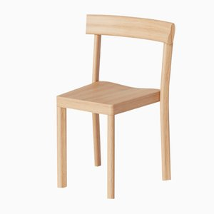 Galta Chairs in Natural Oak from Kann Design, Set of 10