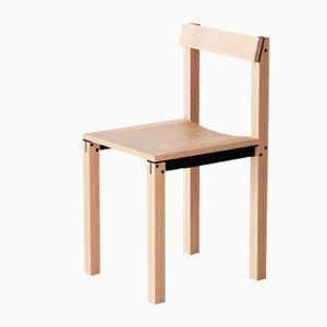 Tal Stühle aus natürlicher Eiche von Kann Design, 10er Set