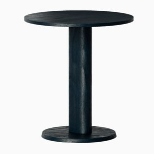 Galta Table in Black Oak with Central Leg from Kann Design