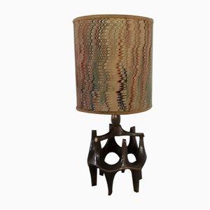 Vintage Brutalist Table Lamp, 1970s