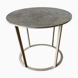 Oval Chrome Simplice Coffee or Side Table by Antonio Citterio for B&B Italia / C&B Italia