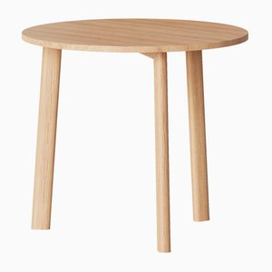 Galta Tripod Table in Natural Oak from Kann Design