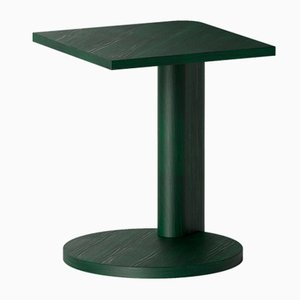 Galta Beistelltische aus grüner Eiche von Kann Design, 5er Set