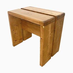 Sgabello o tavolino Les Arcs di Charlotte Perriand